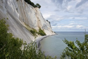 The cliffs of Mons Klint in Denmark
